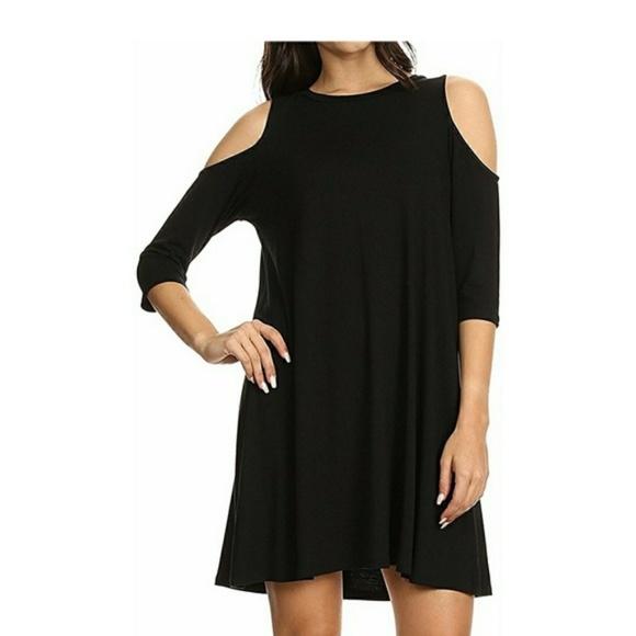 b649541d Dresses | New Casual Cold Shoulder Drape Dress | Poshmark